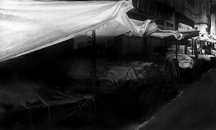 Fotografía de la serie Amarrados